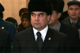 Berdymukhamedov, the acting president, is the favourite for Niyazov's seat [AFP]