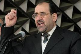 Al-Maliki says if the Iraqi army was better equipped there would be less need for US troops [AFP]