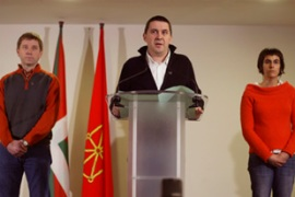 The Basque party Batasuna,  called on Monday for Eta to return to its ceasefire [Reuters]
