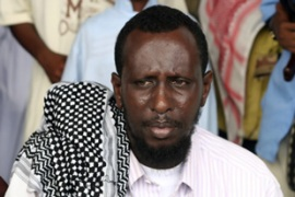 Islamic court's Sharif Ahmed's support is crucial for peace in Somalia [AFP]