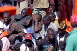 Spain estimates about 30,000 illegal migrants arrived in the Canary Islands during 2006 [EPA]