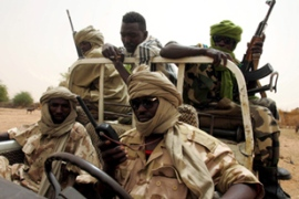 The SLA is the only Darfur rebel group to have signed a 2006 peace deal with the government [EPA]