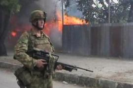 Australian soldiers were sent to Dili, East Timor's capital, last year following unrest [File: AP]