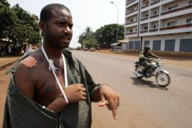 Human Rights Watch accused Guinea's security forces of dozens of abuses in the last five days [AFP]