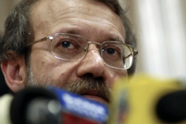 Iran's government spokesman said Larijani had tried repeatedly to resign [AFP]