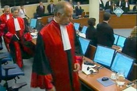 It is the first time that ICJ, the UN's top court, has ruled that a massacre is genocide [AP]