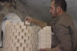 Getting Nablus soap to market