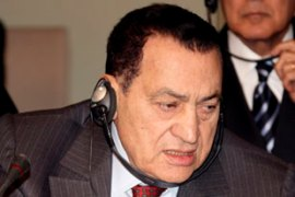 Mubarak says Egypt will not import enriched uranium [File: AFP]