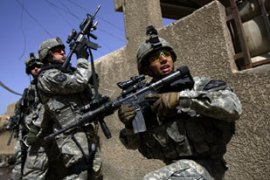 At least 3,215 US soldiers have died  since the invasion of Iraq in March 2003 [AFP]