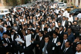 Lawyers say they will hold a nationwide protest on March 21 [Reuters]