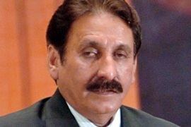 Chaudhry was sacked for alleged misuse of authority but no specific allegations have been made [EPA]