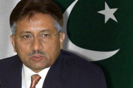 Protests over the sacking of Pakistan's top judgehave developed into a crisis for Musharraf [AP]
