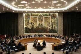 The Security Council has been pressing Tehran to suspend uranium enrichment [AFP]