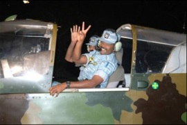 Tamil Tigers show off air force