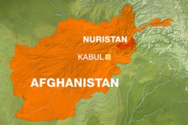 The attack took place in the mountainous province of Nuristan