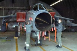 The Tornados, equipped with camera systems, will be based in northern Afghanistan [EPA]