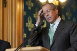 "Lavrov says Moscow will monitor the situation based on ""concrete facts"" [EPA]"