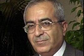 Fayyad, a former World Bank economist, was finance minister in the national unity cabinet [AP]Fayyad, a former World Bank economist, was finance minister in the national unity cabinet [AP]