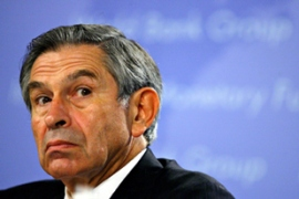 Wolfowitz said he believed resigning would be harmful to the World Bank [AFP]