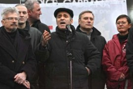 Kasparov has led a number of protests against the Russian government [EPA]