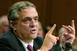 George Tenet denies the CIA forged a letterlinking Iraq and September 11 [EPA]