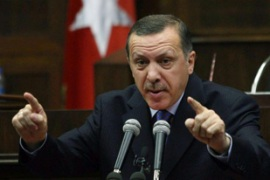 Tayyip Erdogan says plans for a possible incursion into Iraq were under way [AFP]