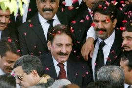 Chaudhry was forced to abandon plans to address a rally in Karachi [Reuters]