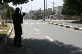 Gazans trapped in 'ghost town'