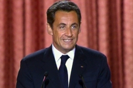 Sarkozy is against unilateral Colombian government attempts to free Betancourt [AP]