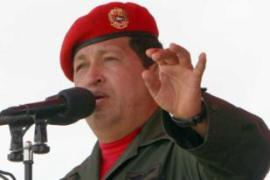 Hugo Chavez accuses RCTV of backing a coup against his rule five years ago [AFP]