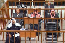 Two other former lieutenants of Saddam have also been sentenced to death in the case [EPA]