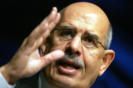 "ElBaradei has proposed a ""time-out"" with Iran [Gallo/Getty]"