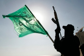 Hamas fighters are now in control of most of Gaza. [Reuters]