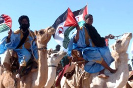 The Polisario says the Saharawi people must be allowed to decide their future [EPA]
