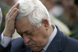 Pressure is on Abbas to find a resolution not only with Israel but also with Hamas in the Gaza Strip [AFP]