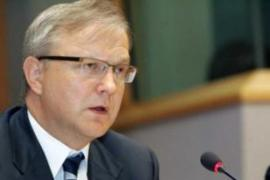 Olli Rehn, the EU Enlargement Commissioner, said the accession talks were still on track [EPA]