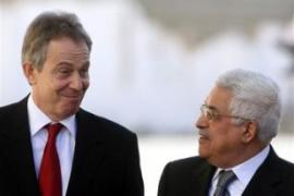 Palestinians and Israelis welcomed the likely appointment of Blair, left [AFP]