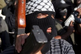 Previous attempts to disarm Palestinian groups loyal to both Hamas and Fatah have failed [EPA]