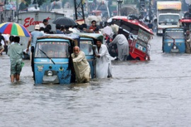 Millions of people have been affected by flooding in Pakistan, India and Afghanistan [AFP]