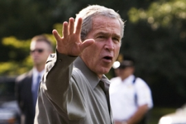 Bush faces more Republican defections over the Iraq issue [AFP]