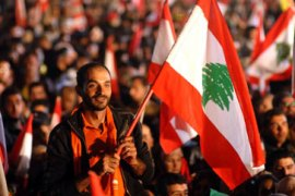 A Year Of Division And Anxiety Lebanon Al Jazeera