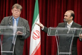 Iranian and IAEA officials have been discussing Tehran's nuclear programme [AFP]
