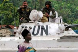 The UN maintains a 17,000-strong peacekeepingforce in Congo [EPA]