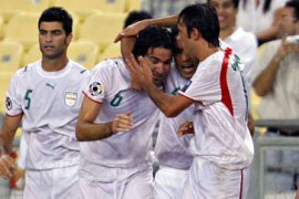 Iran comeback to draw with China