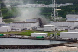The quake triggered a fire at Tepco's Kashiwazaki Kariwa plant which took two hours to put out [EPA]