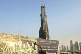 The emirate's construction boom is made possible by South Asian labourers [AP]