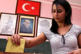 About 43 million Turks were eligible to vote in Sunday's general elections [AFP]