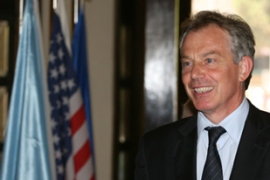 Blair's appointment provoked outright hostility from Russia [AFP]