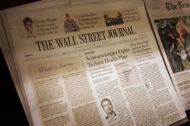 Some of the Bancrofts have doubts over Murdoch's intentions for the Wall Street Journal [AFP]