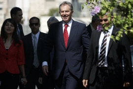 Blair has 'sense of possibility'